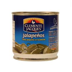 Jalapeños enteros 380g - Clemente Jacques