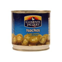 Jalapeños nachos 380g - Clemente Jacques