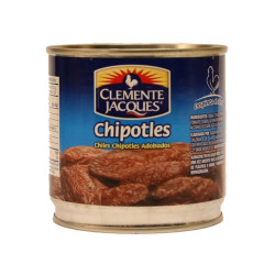 Chiles chipotles adobados 220g - Clemente Jacques