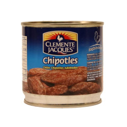 Chiles chipotles adobados 380g - Clemente Jacques