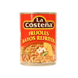 Frijol refrito bayo 560g - La Costeña