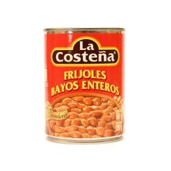 Frijol entero bayo 560g - La Costeña