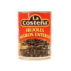 Frijol entero negro 560g - La Costeña