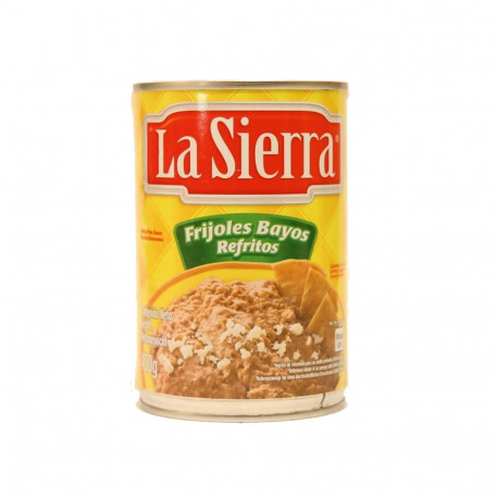 Frijol refrito bayo 430g - La Sierra
