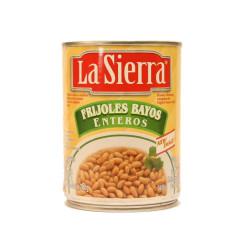 Frijol entero bayo 560g - La Sierra
