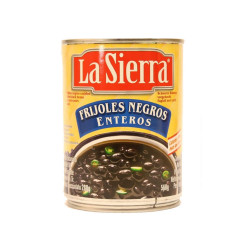 Frijol entero negro 560g - La Sierra
