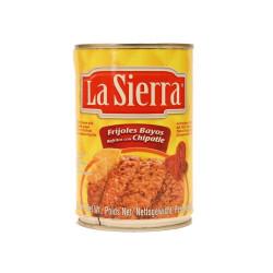 Frijol bayo con chipotle 430g - La Sierra