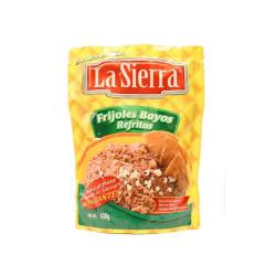 Frijol bayo refrito en bolsa 430g - La Sierra