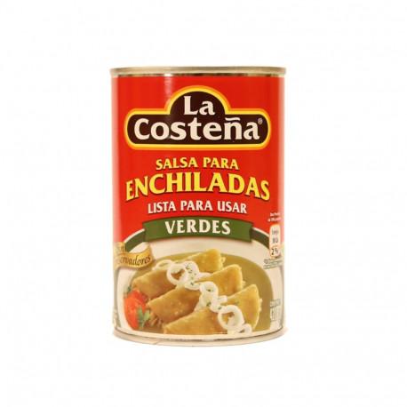 Salsa enchiladas verdes 420g - La Costeña