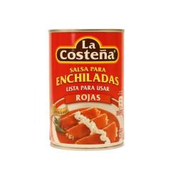 Salsa enchiladas rojas 420g  - La Costeña