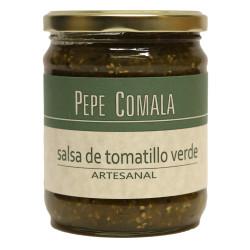 Salsa de tomatillo verde 465g - Pepe Comala