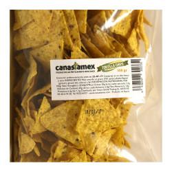 Totopos de maíz fritos en bolsa 450g - Canastamex
