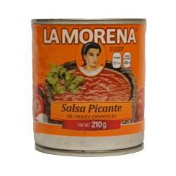 Salsa de chile chipotle 210g - La Morena