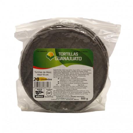Tortilla azul 15cm - Ganajuato