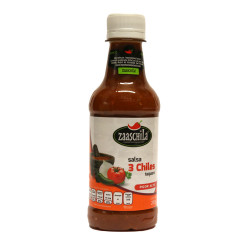 Salsa tres chiles 265g - Zaaschila