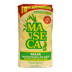 Harina de maíz blanco 2kg - Maseca