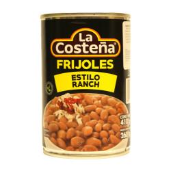 Frijoles estilo ranch 410g - La Costeña