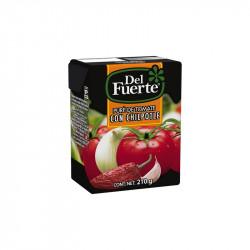 Puré de tomate con chipotle 210g - Del Fuerte