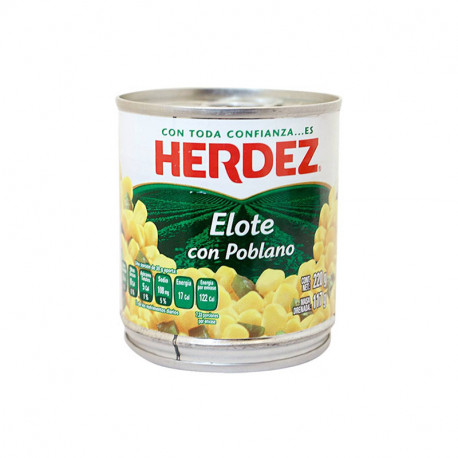 Elote poblano 210g - Herdez