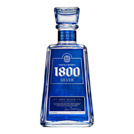 Tequila silver 70cl - 1800