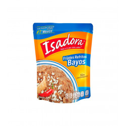 Frijoles Bayos refritos 430g - Isadora