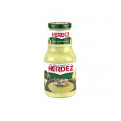 Salsa guacamole en cristal 453g - Herdez