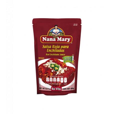 Salsa roja para enchiladas 400g - Nana Mary