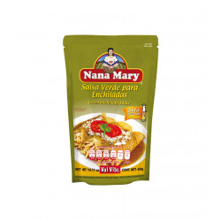 Salsa verde para enchiladas 400g - Nana Mary