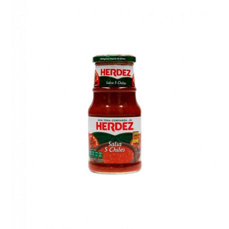 Salsa 5 chiles 240g - Herdez