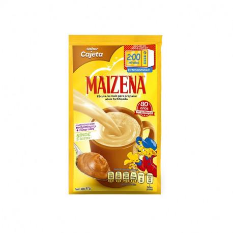 Atole maizena sabor cajeta  47g – Maizena