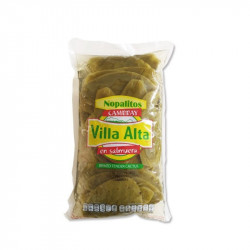 Nopal entero bolsa 1kg - Azteca