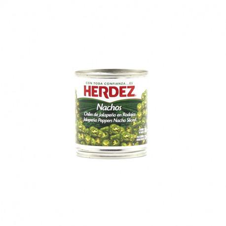 Jalapeños nachos 220g - Herdez