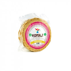 Tortilla de maíz 12cm 500g - Komali