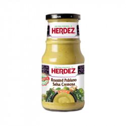Salsa Poblano cremosa 434g - Herdez