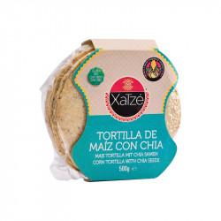 Tortillas de maíz con chia 250g - Xatzé